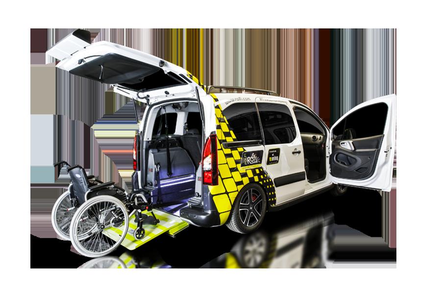 citroen berlingo automatico automezzo per disabili