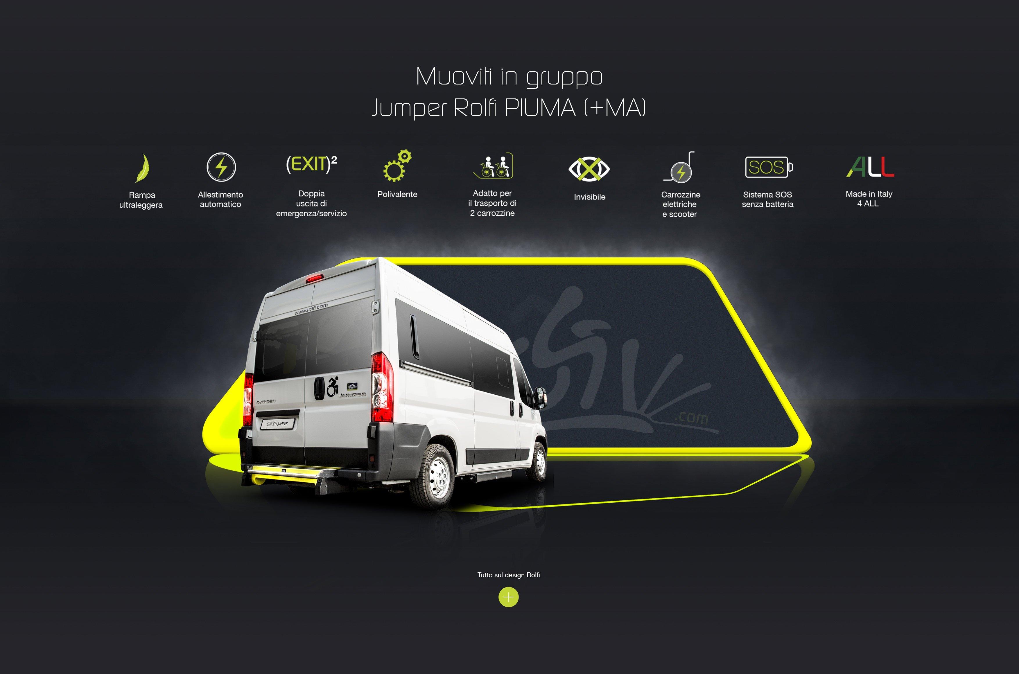 furgone per trasporto disabili
