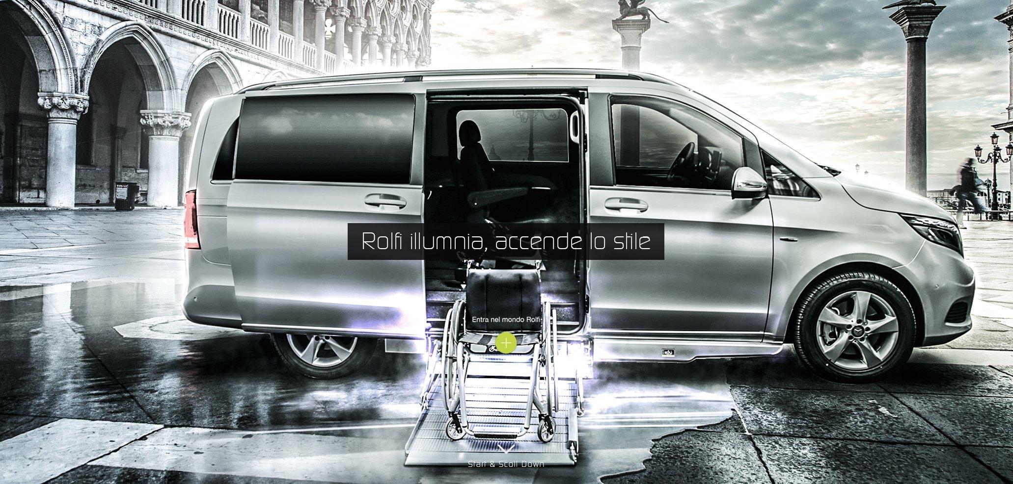allestimento veicoli speciali per disabili