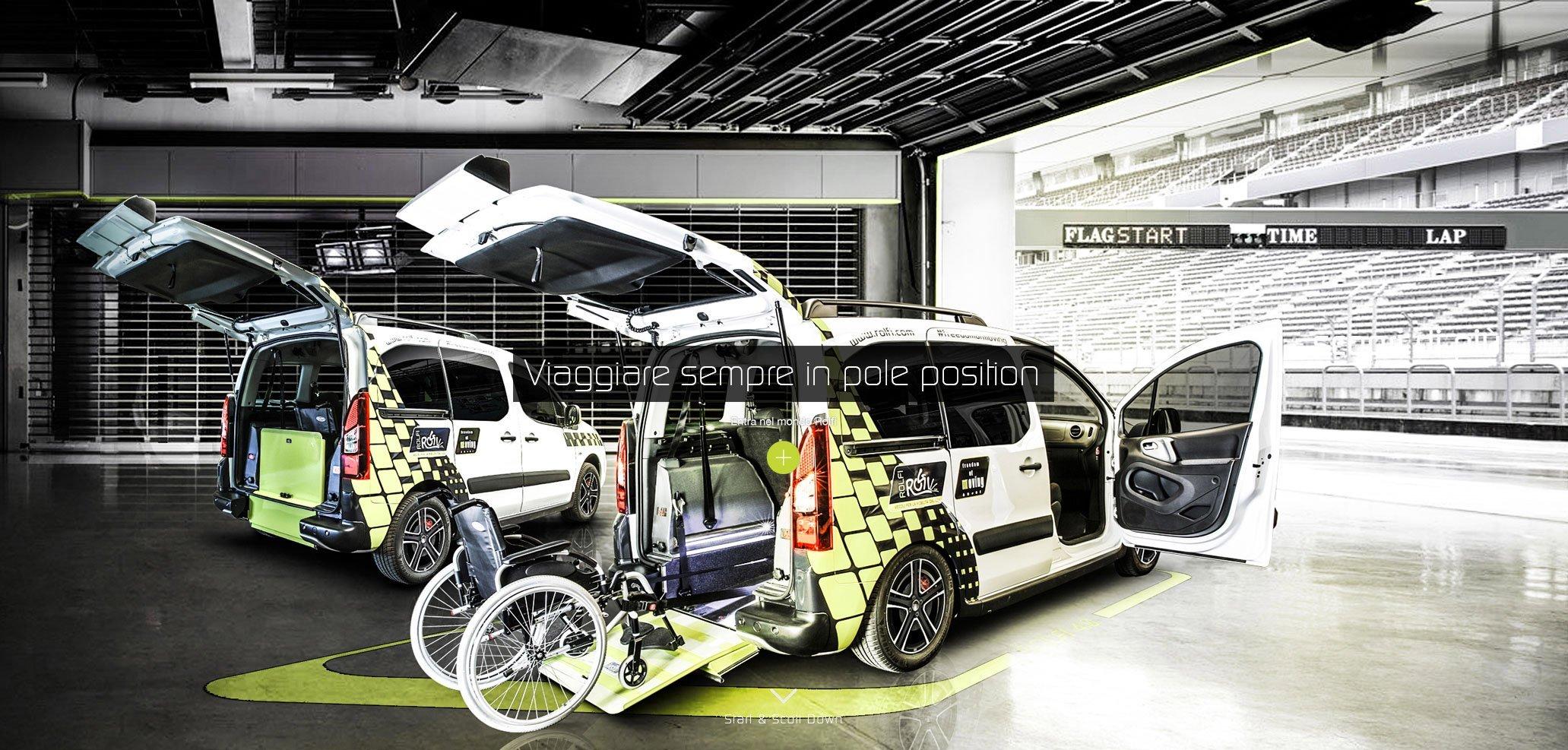 adattamenti veicoli per persone disabili