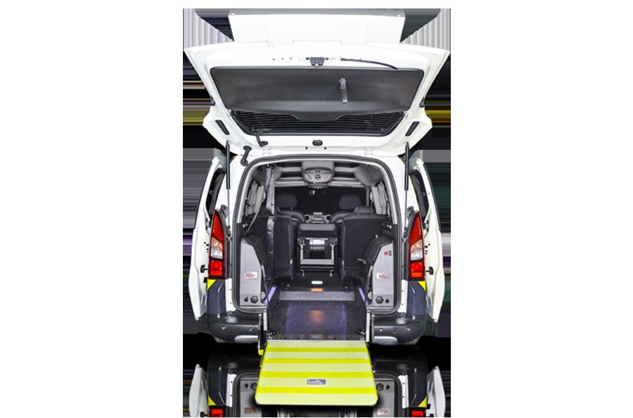 citroen berlingo automatico veicolo adattato per disabili