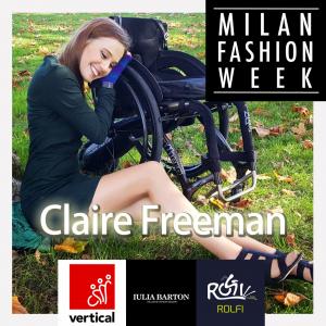 claire freeman modella disabile